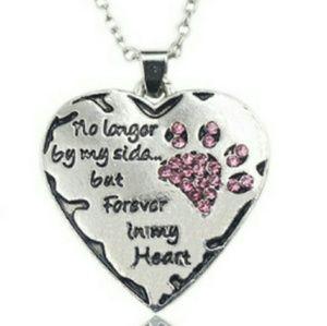 A new pet remembrance necklace.